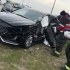 Car Wreck on Paul Sandoval Campus:<br>DSST Students Aid Trapped Driver