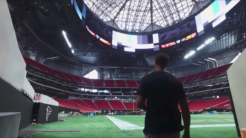 Mercedes-Benz Stadium: Site of Super Bowl 53