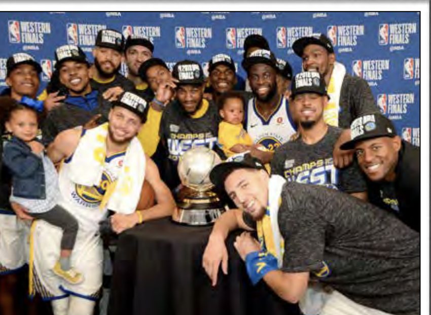 Warriors Rise to the Top: Strength in Numbers